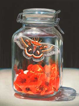 Poppy jar, 2012, watercolor